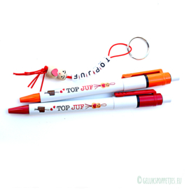 Topjuf gelukspoppetjes pen