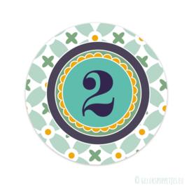 Cijfer stickers