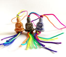 Boeddha gelukspoppetje gekleurd