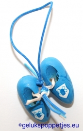 Delfts blauwe geluksklompjes