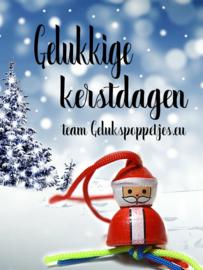 Gelukkige kerstdagen!