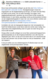 Maatschappelijk Verantwoord Ondernemen samen met de dagbesteding Severinus in Veldhoven