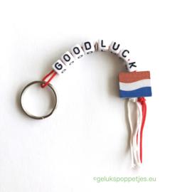 Good luck gelukspoppetjes sleutelhanger