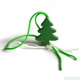 Gelukskerstboom plat