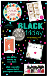 Korting op Black Friday
