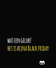 Black friday komt eraan
