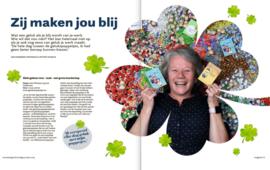 Artikel over onze gelukspoppetjes in de Limburger van 16 maart 2019