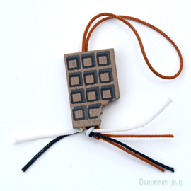 "Gelukschocoladereep ""Pralibar"""