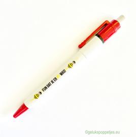 Fijn dat je er BIJ was gelukspoppetjes pen