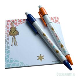 Namaste gelukspoppetje boeddha pen