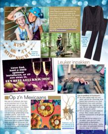 Gelukspoppetje sterren in tijdschrift de Weekend