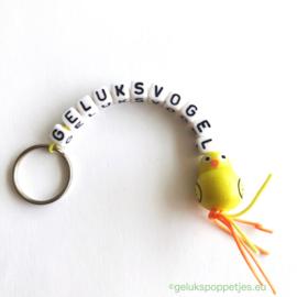 Geluksvogel sleutelhanger