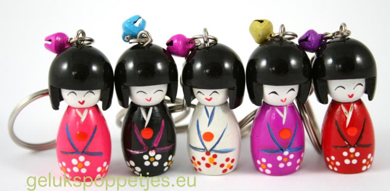 Japanse gelukspoppetjes