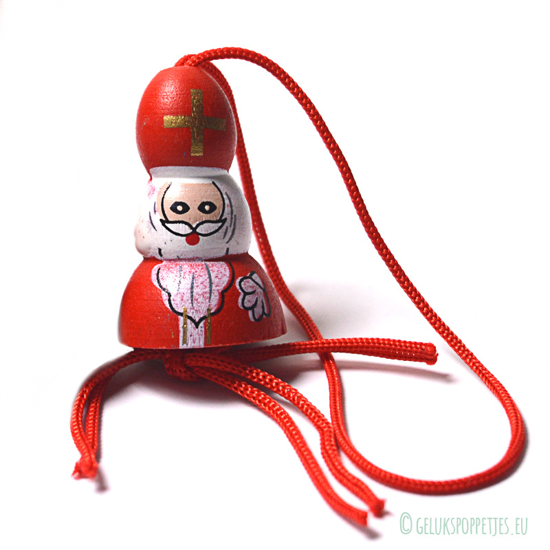 Sinterklaas gelukspoppetje