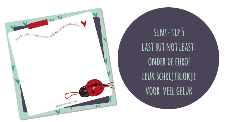 Last minute Sint tips!