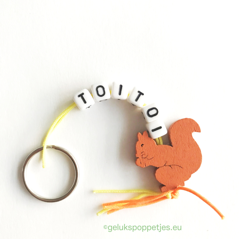 TOITOI gelukspoppetjes sleutelhanger