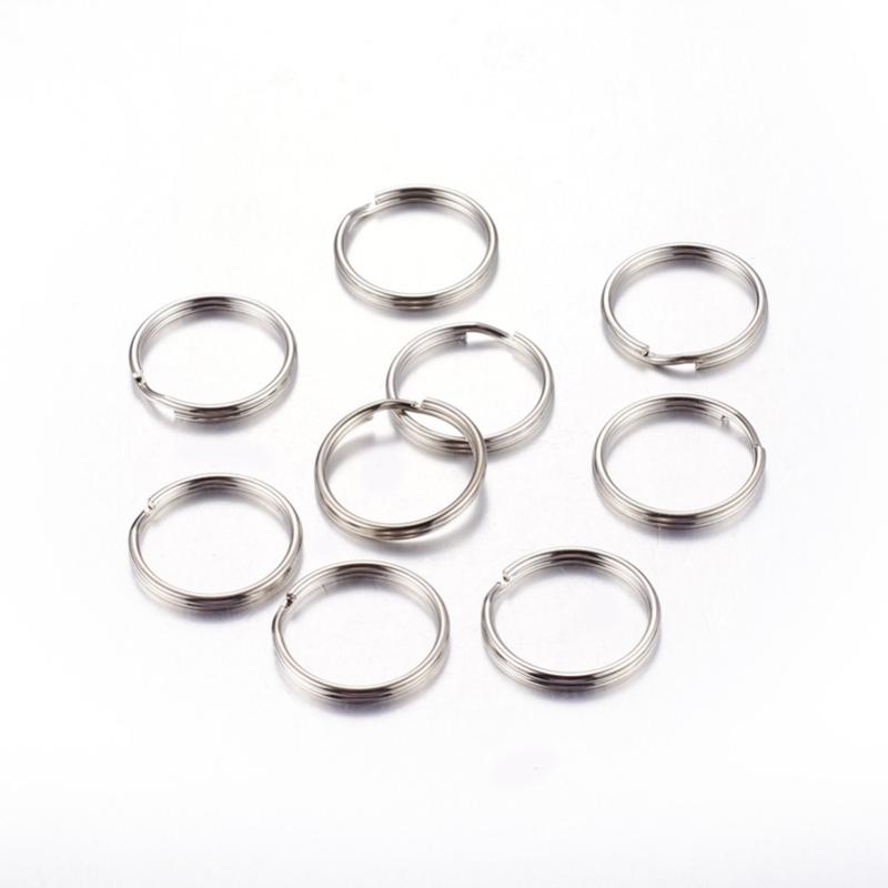 Sleutelhanger ring voor een gelukssleutelhanger (5 stuks)