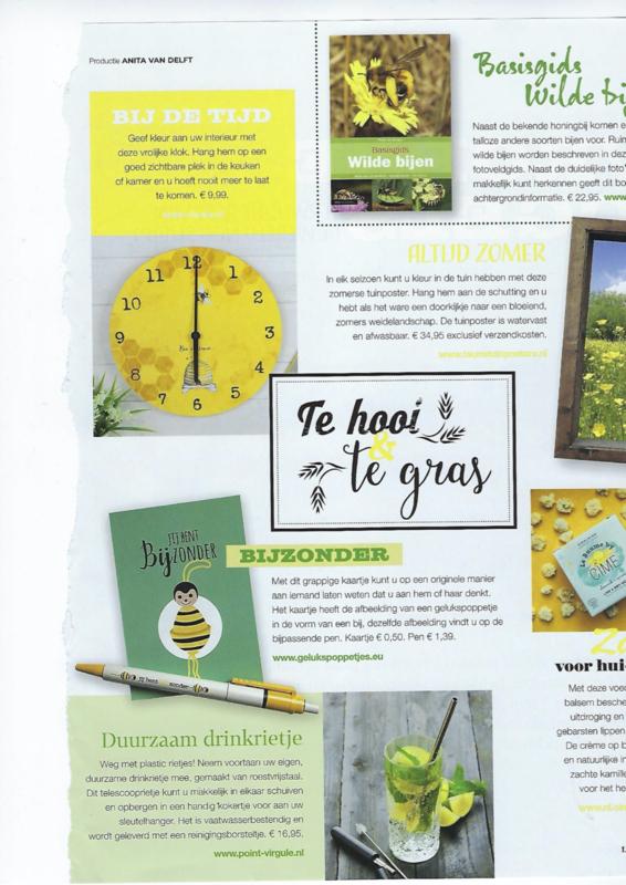 "Gelukspoppetjes in tijdschrift ""Landleven"" april 2020"