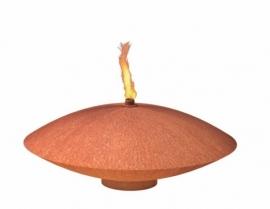 Drijfschaal Corten (roest) Ø60 cm