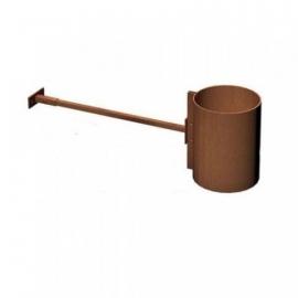 Muursteun | Ø150 mm | Corten | BAC2.150