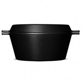 Morsø geëmailleerde gietijzeren stoofpot met Grillplaat deksel | 3,1 liter