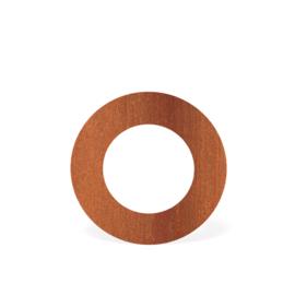 Rozet | Ø150 mm | Corten | BAC12.150