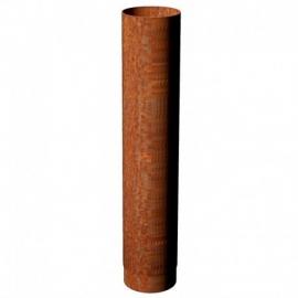 100 cm pijp | Ø150 mm | Corten | BAC5.150