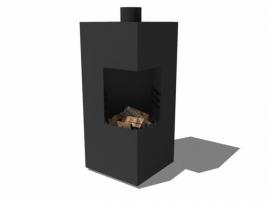 Burni Arvid tuinhaard | Corten