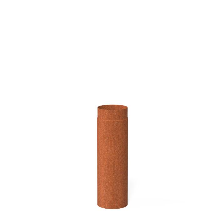 50 cm pijp  | Ø150 mm |Corten | BAC5.2.150