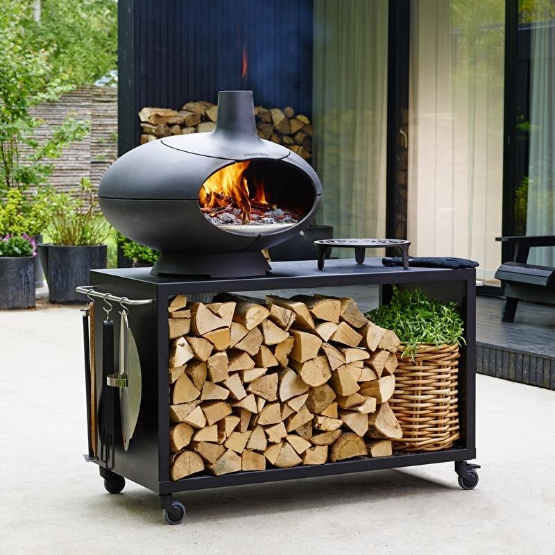 Morso Forno Pizza oven   complete set Garden