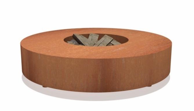 Vuurtafel rond Ø125 cm