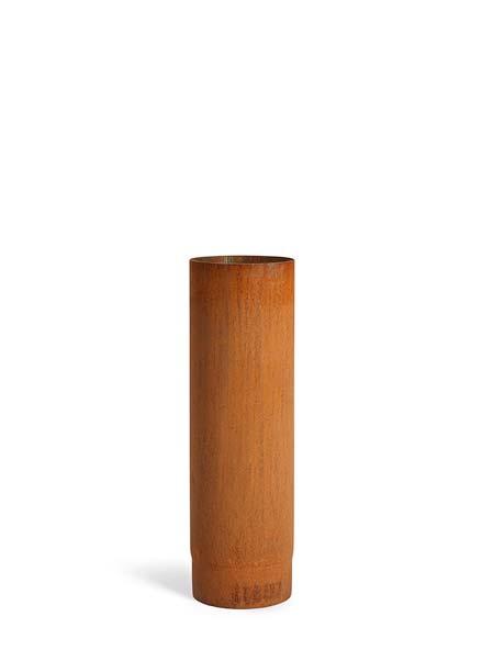 Pijp 50 cm | Ø150 mm | Corten | TKCR500ZK