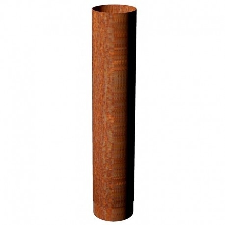 Ø 150 Dikwandige 2 mm buis 100 cm | Corten