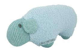 Haakpakket Joekedoe schaap (blauw)