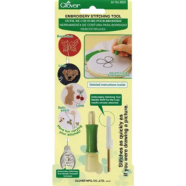 Clover Embroidery Stitching Tool - Needle Punch