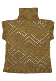 Gehaakte pullover Paestum (geometrische motieven)