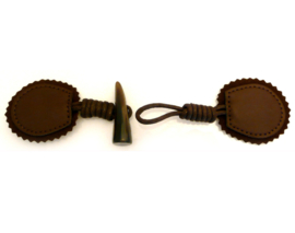 Houtje touwtje -  bruin / zwart