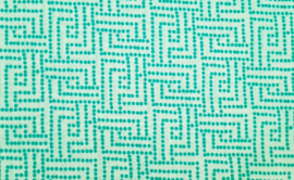 Tissu de Marie - Tranquil Teal (kleur 1)