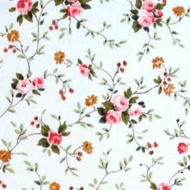 Tissu de Marie stof bloemen klein 145 cm x 50 cm