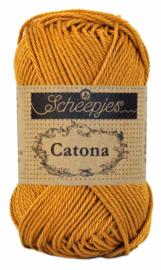 Scheepjes Catona 50 gram - 383 - ginger gold