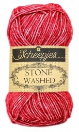 Scheepjes Stone Washed - 807 -Red Jasper