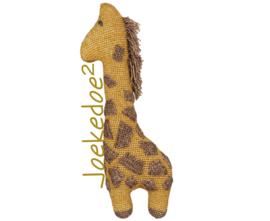 haakpatroon giraf (Joekedoe)