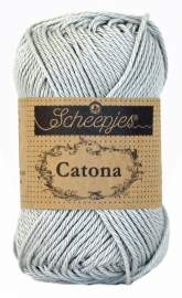 Scheepjes Catona 50 gram - 172 - light silver