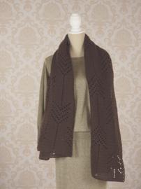 Gehaakte sjaal Milano (geometrische motieven)