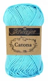 Scheepjes Catona 50 gram - 397 - Cyan