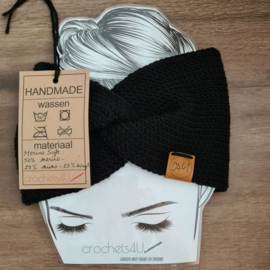Gebreide hoofdband - Merino Soft