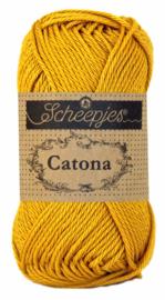 Scheepjes Catona 50 gram - 249 - saffron