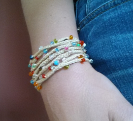 Gratis haakpatroon armband