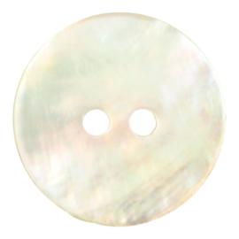 Knoop Parelmoer 15 mm