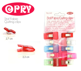 Opry Quilting Clips - Stofklemmen